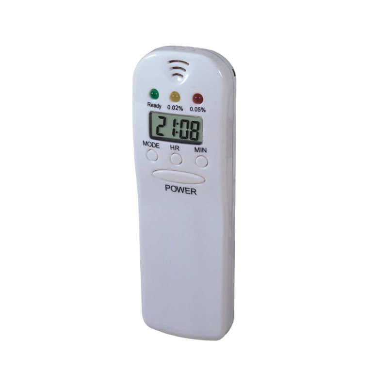 WH6382  LED Breath Alcohol Tester with Clock